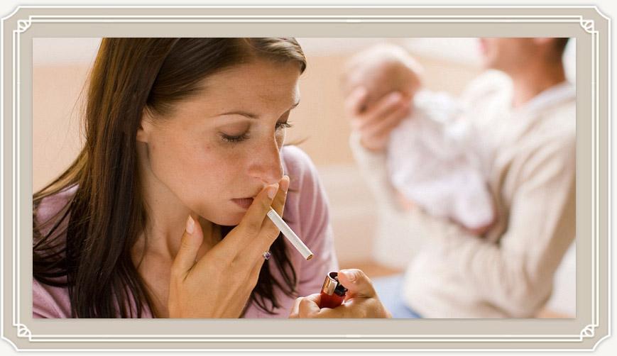 Можно ли курить при грудном вскармливании?