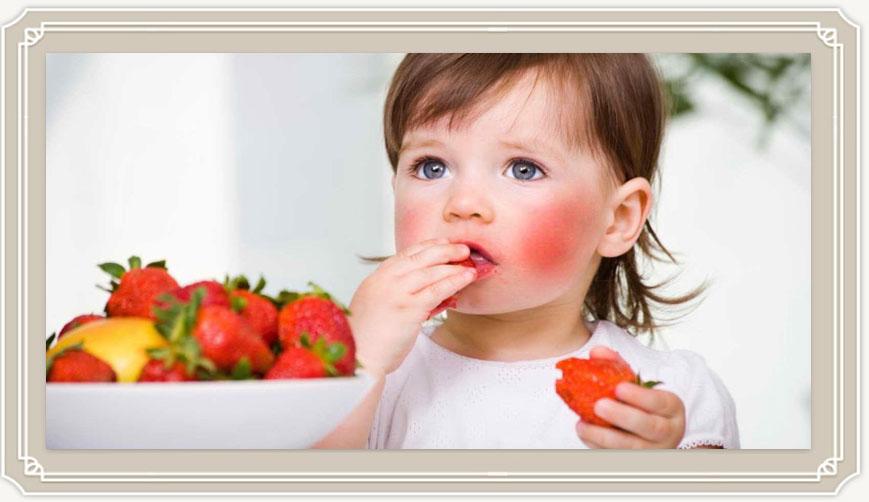 пищевая аллергия у ребенка фото