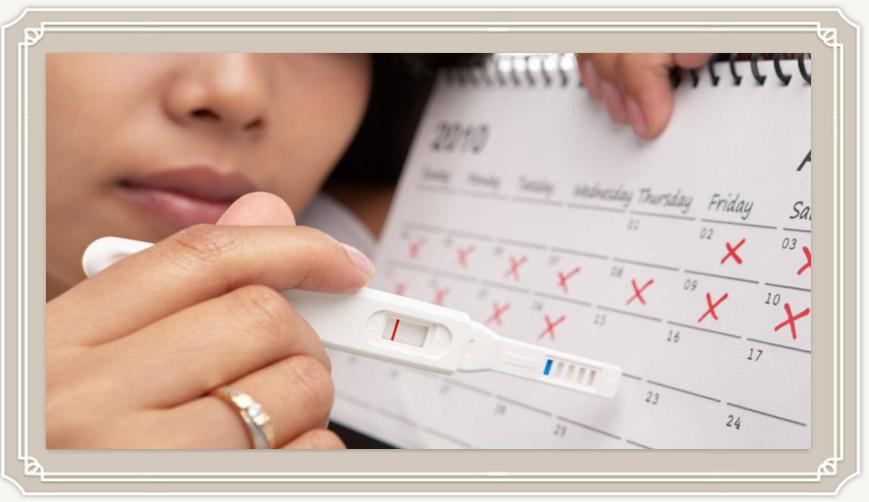 С какого срока показывает тест на беременность?