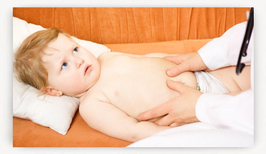 Симптомы аппендицита у детей от 1 года до 14 лет