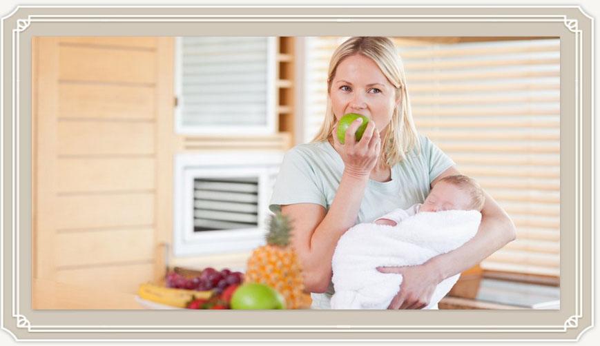 Что можно есть кормящей маме, что нельзя и почему